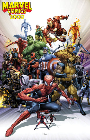 28/08/2019 MARVEL COMICS #1000 1:50 CRAIN VAR