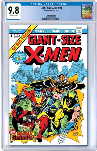 GIANT SIZED X-MEN #1 FACSIMILE EDITION CGC 9.8 PREORDER