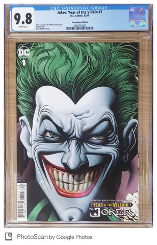 JOKER YEAR OF THE VILLAIN #1 BRIAN BOLLAND VARIANT CGC 9.8