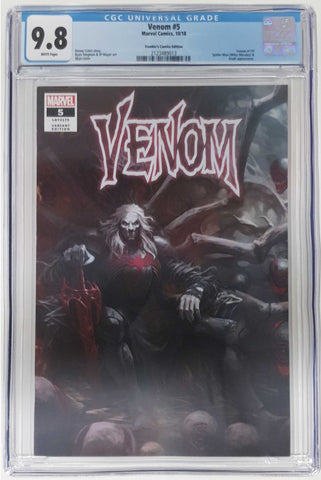 VENOM #5 SKAN SRISUWAN VARIANT '1ST COVER APP OF KNULL' TRADE DRESS LIMITED TO 3000 CGC 9.8