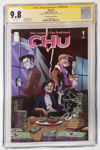 CHU #1 ROB GUILLORY VARIANT LIMITED TO 500 COPIES CGC 9.8 SAFFRON REMARK