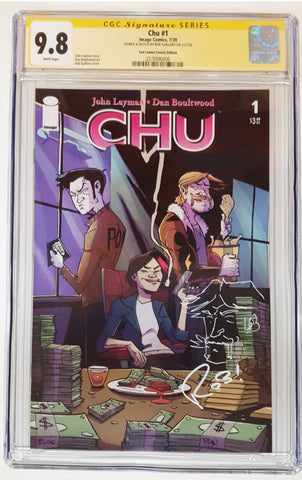 CHU #1 ROB GUILLORY VARIANT LIMITED TO 500 COPIES CGC 9.8 JOHN REMARK
