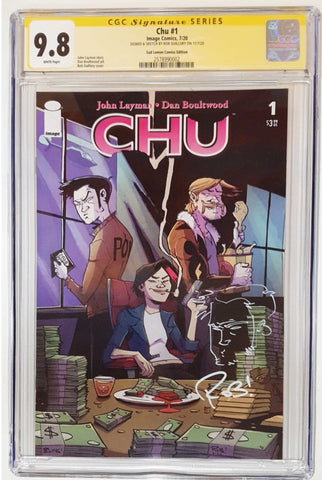 CHU #1 ROB GUILLORY VARIANT LIMITED TO 500 COPIES CGC 9.8 TONY REMARK