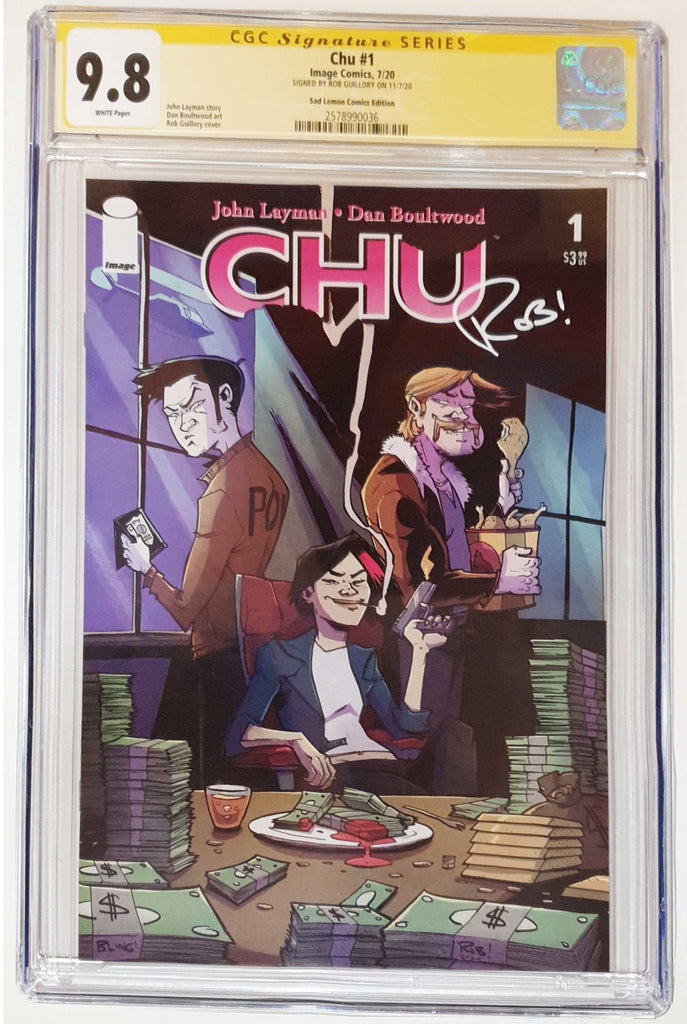 CHU #1 ROB GUILLORY VARIANT LIMITED TO 500 COPIES CGC 9.8 SS