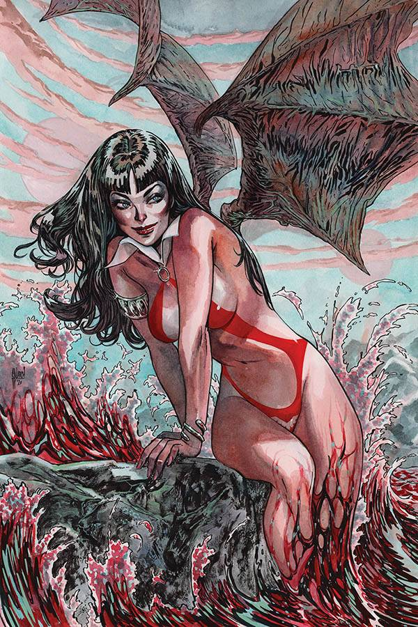 15/07/2020 VAMPIRELLA #11 1:40 MARCH VIRGIN VARIANT