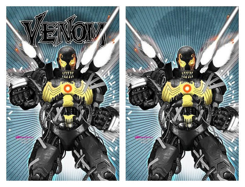 VENOM #25 GREG HORN WAR MACHINE HOMAGE TRADE/VIRGIN VARIANT SET LIMITED TO 1000 SETS