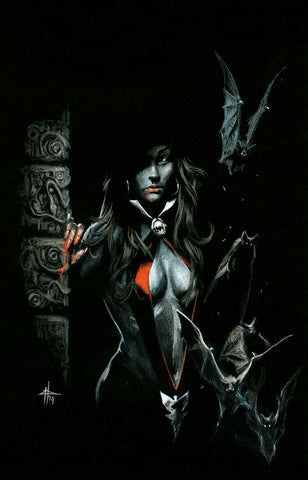 VAMPIRELLA #1 GABRIELE DELL'OTTO VIRGIN VARIANT LIMITED TO 300 WITH NUMBERED COA