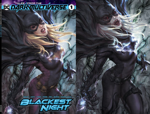 TALES FROM THE DARK MULTIVERSE BLACKEST NIGHT #1 KENDRICK LIM TRADE/VIRGIN VARIANT SET LIMITED TO 1000 SETS
