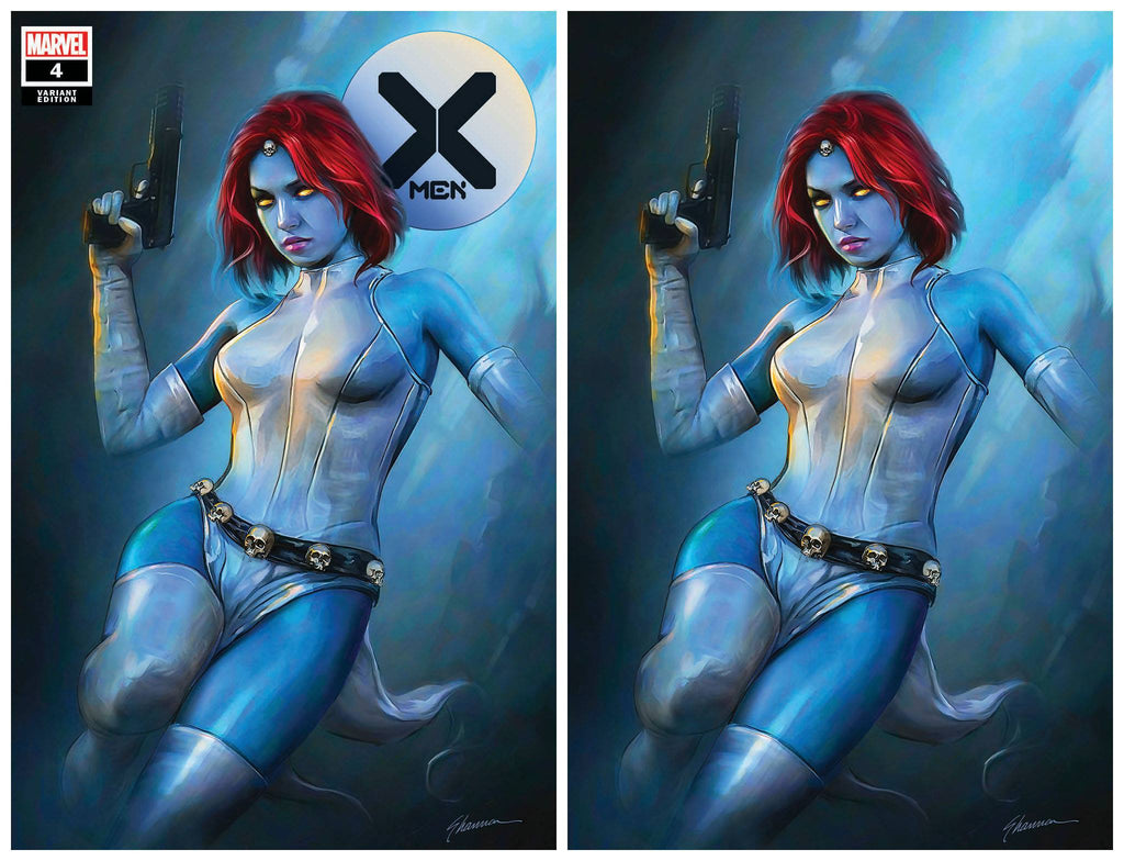 X-MEN #4 DX SHANNON MAER TRADE/VIRGIN VARIANT SET LIMITED TO 600 SETS WITH NUMBERED COA