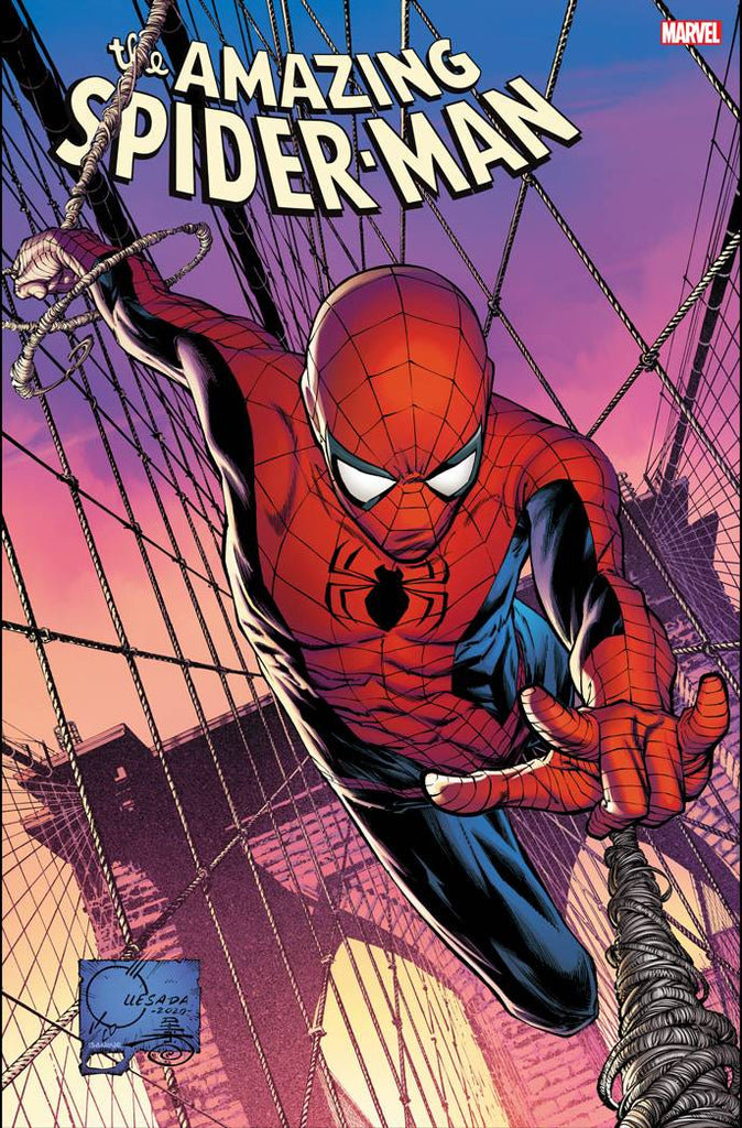 07/10/2020 AMAZING SPIDER-MAN #49 1:50 JOE QUESADA VARIANT
