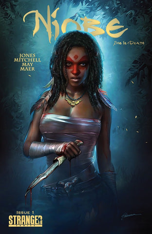 NIOBE SHE IS DEATH #1 SHANNON MAER TRADE DRESS VARIANT LIMITED TO 500 COPIES
