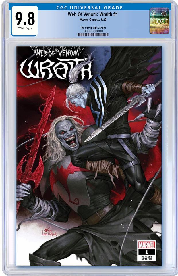 WEB OF VENOM WRAITH #1 INHYUK LEE  VARIANT