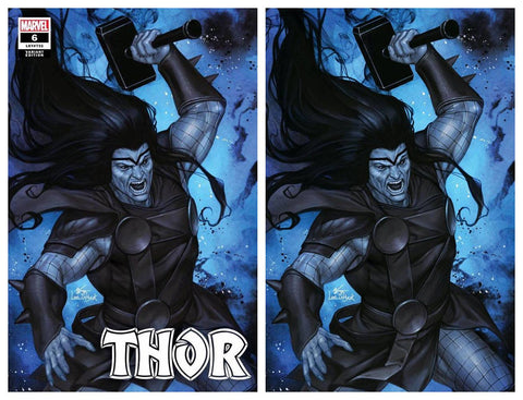 THOR #6 INHYUK LEE BLACK WINTER VARIANT