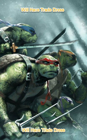 TEENAGE MUTANT NINJA TURTLES #98 GABRIELE DELL'OTTO TRADE DRESS VARIANT LIMITED TO 1500