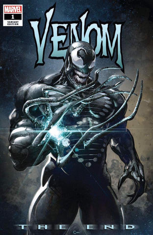 VENOM THE END #1 CLAYTON CRAIN TRADE DRESS VARIANT LIMITED TO 2000 WITH NUMBERED COA