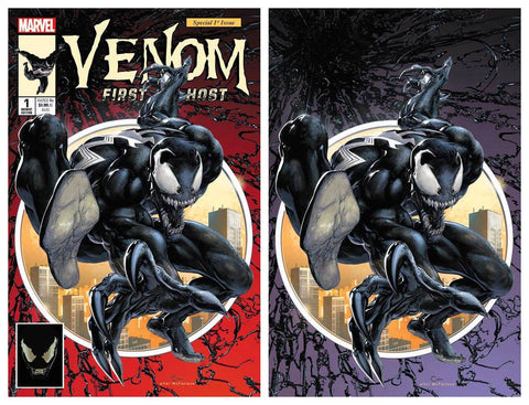 VENOM FIRST HOST #1 CLAYTON CRAIN ASM #300 HOMAGE NYCC TRADE/VIRGIN SET LIMITED TO 1000 SETS