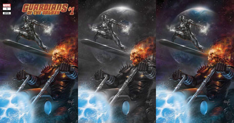 GUARDIANS OF THE GALAXY #1 LUCIO PARRILLO VARIANT SET