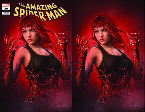 AMAZING SPIDER-MAN #30 SHANNON MAER TRADE DRESS/VIRGIN VARIANT SET