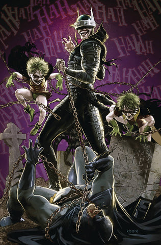 10/04/2019 BATMAN WHO LAUGHS #4 (OF 6) KAARE ANDREWS VAR ED