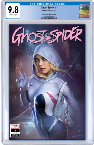 GHOST-SPIDER #1 SHANNON MAER TRADE DRESS VARIANT LIMITED TO 3000 CGC 9.8 PREORDER