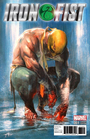 IRON FIST #1 GABRIELE DELL'OTTO VARIANT COLOUR