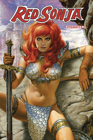 RED SONJA #1 1:75 JOE JUSKO SNEAK PEAK VARIANT