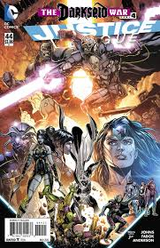 JUSTICE LEAGUE #44 DARKSEID WAR PART 4
