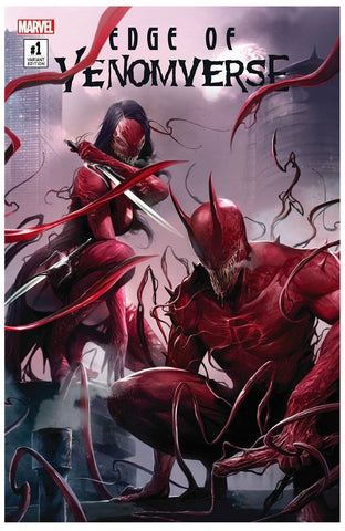 EDGE OF VENOMVERSE #1 EXCLUSIVE FRANCESCO MATTINA VARIANT