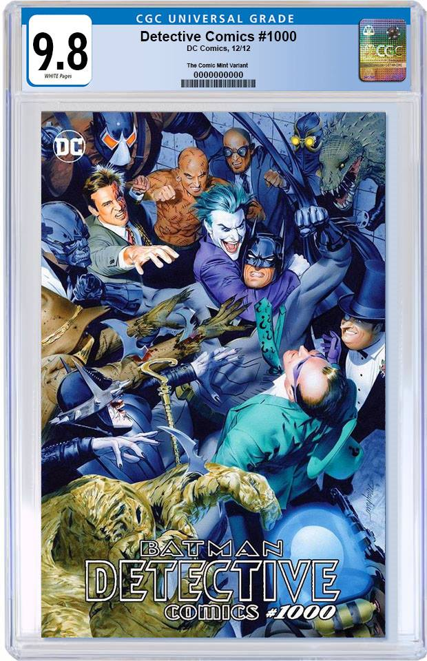 DETECTIVE COMICS #1000 MIKE MAYHEW TRADE DRESS VARIANT LIMITED TO 2500 CGC 9.8 PREORDER