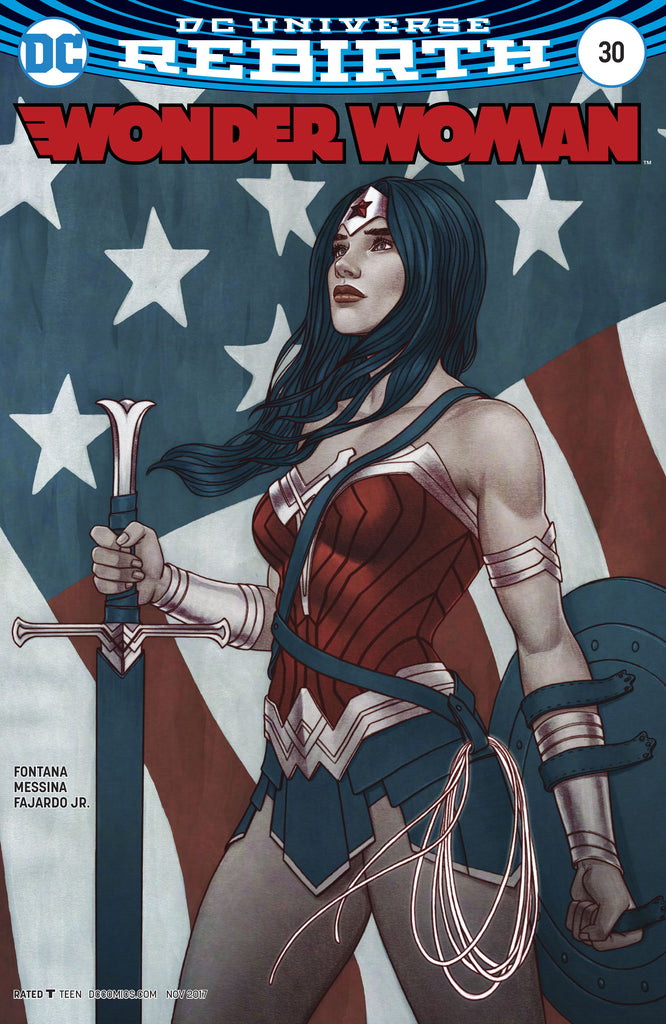 WONDER WOMAN #30 FRISON VAR ED