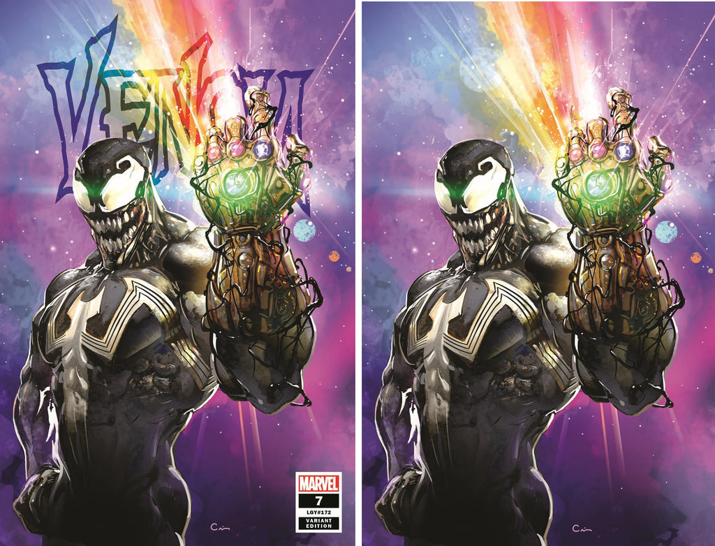 VENOM #7 CLAYTON CRAIN TRADE/VIRGIN VARIANT SET LIMITED TO 1000 SETS