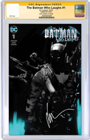 BATMAN WHO LAUGHS #1 EXCLUSIVE JOCK GRIM KNIGHT ALTERNATIVE VARIANT CGC SS PREORDER