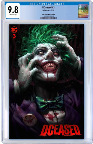 DCEASED #3 DERRICK CHEW TRADE DRESS VARIANT LIMITED TO 3000 CGC 9.8 PREORDER