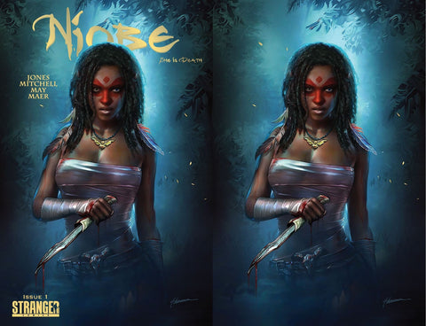 NIOBE SHE IS DEATH #1 SHANNON MAER TRADE/VIRGIN VARIANT SET LIMITED TO 250 SETS