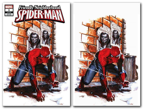 FRIENDLY NEIGHBORHOOD SPIDER-MAN #1 GABRIELE DELL'OTTO TRADE/VIRGIN VARIANT SET LIMITED TO 1000 SETS