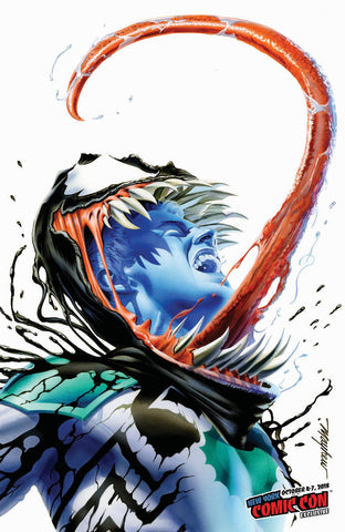 VENOM FIRST HOST #1 MIKE MAYHEW VARIANT NYCC VARIANT LIMITED TO 1000