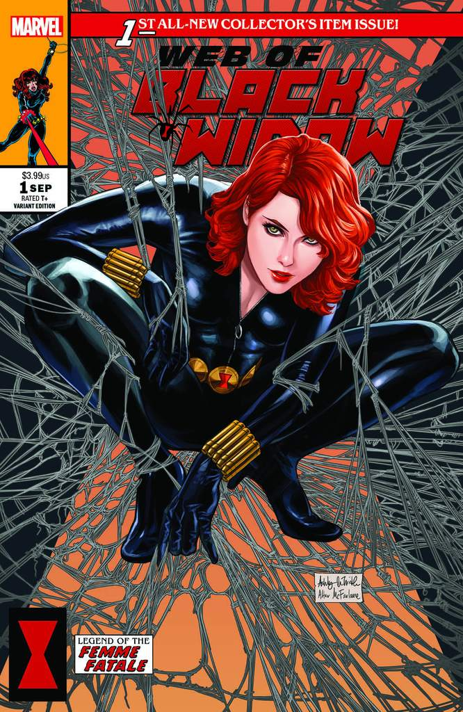 WEB OF BLACK WIDOW #1 ASHLEY WITTER MCFARLANE SPIDER-MAN HOMAGE TRADE DRESS VARIANT