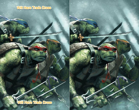 TEENAGE MUTANT NINJA TURTLES #98 GABRIELE DELL'OTTO TRADE DRESS/VIRGIN VARIANT SET LIMITED TO 500 SETS