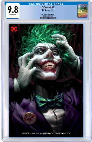 DCEASED #3 DERRICK CHEW MINIMAL TRADE DRESS VARIANT LIMITED TO 1000 CGC 9.8 PREORDER