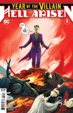 11/03/2020 YEAR OF THE VILLAIN HELL ARISEN #3 2ND PRINT VARIANT