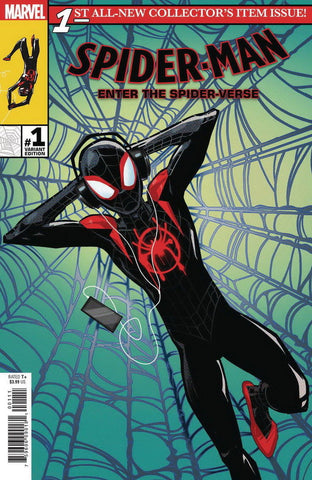 21/11/2018 SPIDER-MAN INTO THE SPIDER-VERSE #1 1:10 ANIMATION VARIANT