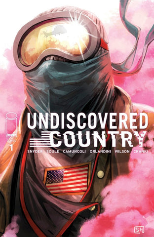 UNDISCOVERED COUNTRY #1 STEFANIE HANS VARIANT LIMITED TO 750