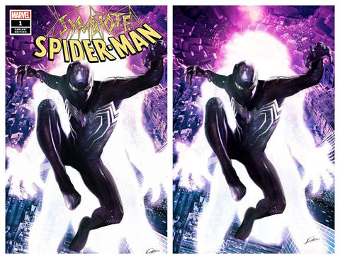 SYMBIOTE SPIDER-MAN #1 ALEXANDER LOZANO TRADE DRESS/VIRGIN VARIANT SET LIMITED TO 600 SETS