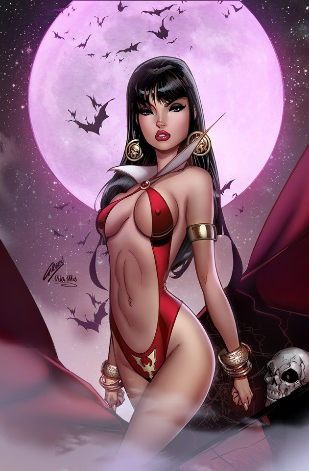 VAMPIRELLA #3 PAUL GREEN & ULA MOS VIRGIN VARIANT LIMITED TO 500