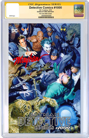 DETECTIVE COMICS #1000 MIKE MAYHEW TRADE DRESS VARIANT LIMITED TO 2500 CGC SS PREORDER