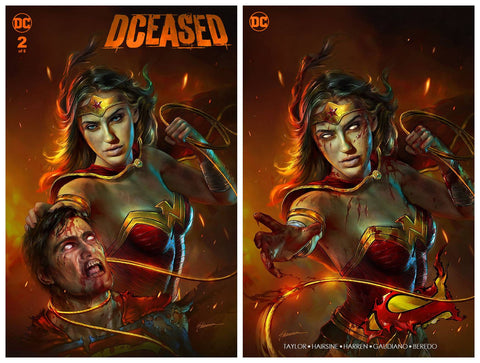 DCEASED #2 SHANNON MAER TRADE/MINIMAL TRADE DRESS VARIANT SET LIMITED TO 1000 SETS