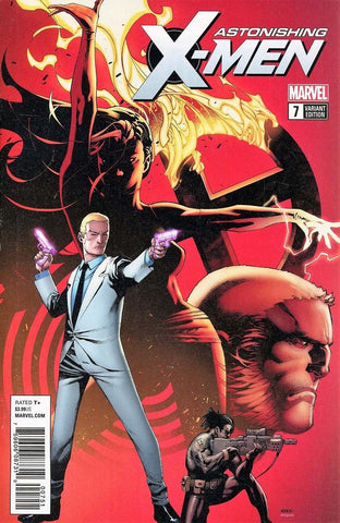 ASTONISHING X-MEN #7 1:25 CHRIS STEVENS VARIANT