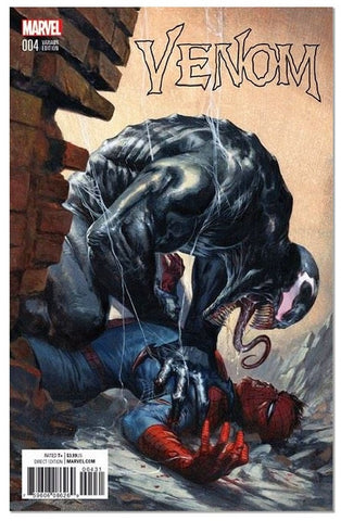 VENOM #4 GABRIELE DELL'OTTO VARIANT TRADE DRESS COLOUR