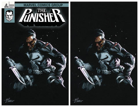 PUNISHER #2 GABRIELE DELL'OTTO TRADE/VIRGIN SET LIMITED TO 500 SETS WITH NUMBERED COA