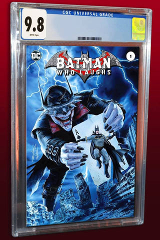 BATMAN WHO LAUGHS #1 MIKE MAYHEW MODERN TRADE DRESS VARIANT LIMITED TO 1500 CGC 9.8 PREORDER